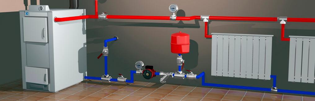 Системи опалення - газові та твердопаливні котли